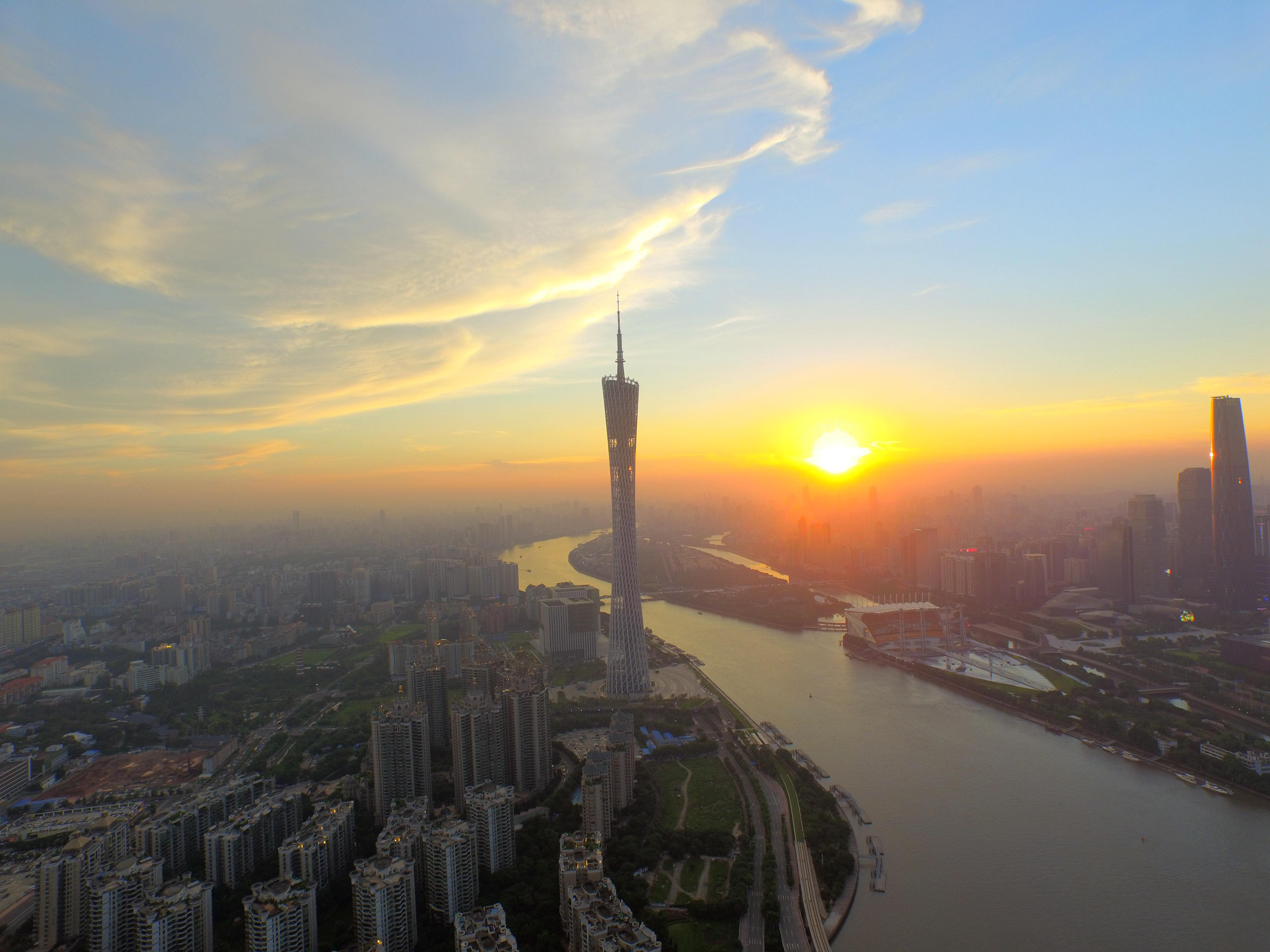 微信头像城市风景 山水 大海