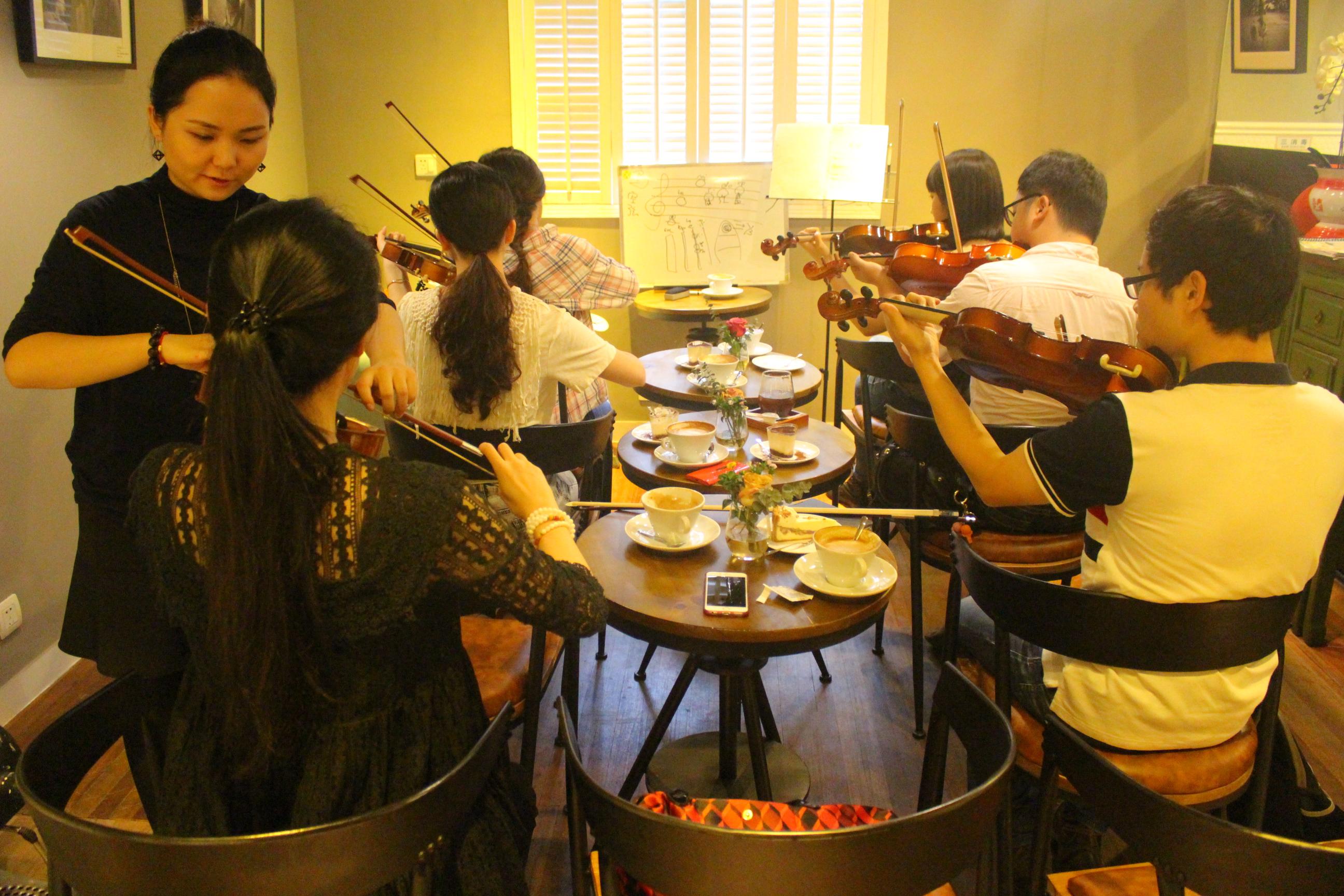 秋意浓小提琴曲谱
