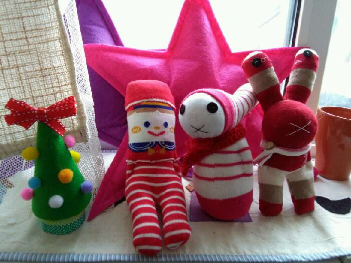 北京-布艺袜子娃娃手工体验-周末去哪儿